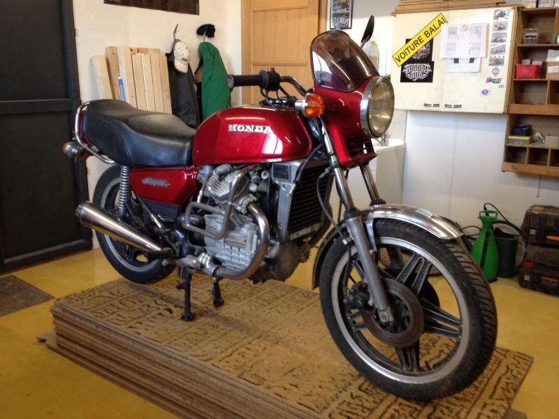 "Prépa 400 cx cafe racer ""The Darkracer CX"" Photo_15"