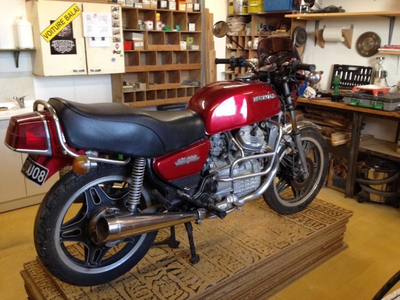 "Prépa 400 cx cafe racer ""The Darkracer CX"" Photo_16"