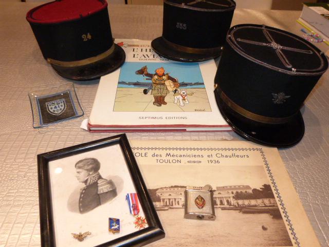 Chine en Bretagne sympathique : képi ww2, légion et marine P1040725