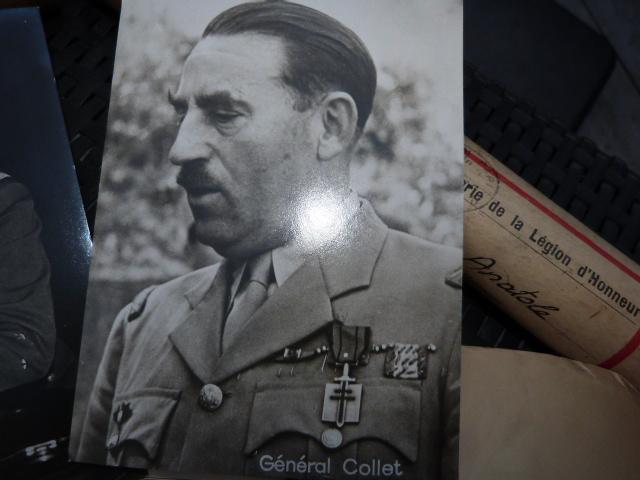 Photos generaux, libé, prefet, bicorne Vatican, officier colo ww1 P1050228