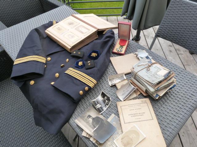 Photos second empire, marine sous marin Protet, intendant gal, service essence P1060129