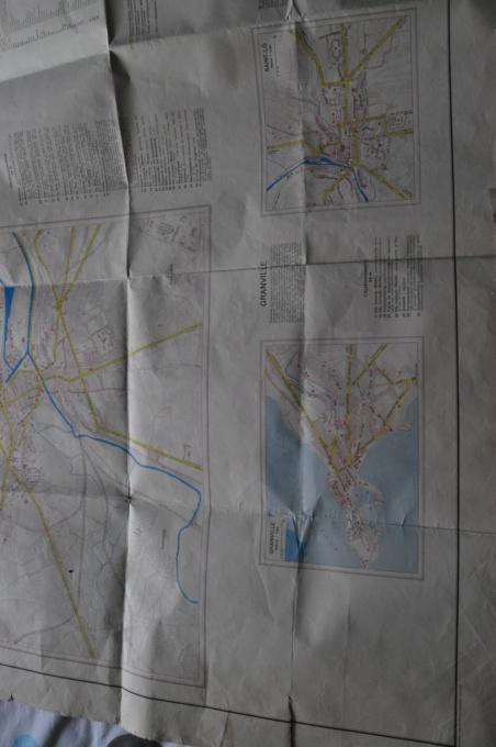 Carte de notre belle région Normandie :) + Angletairre  Dsc_0330