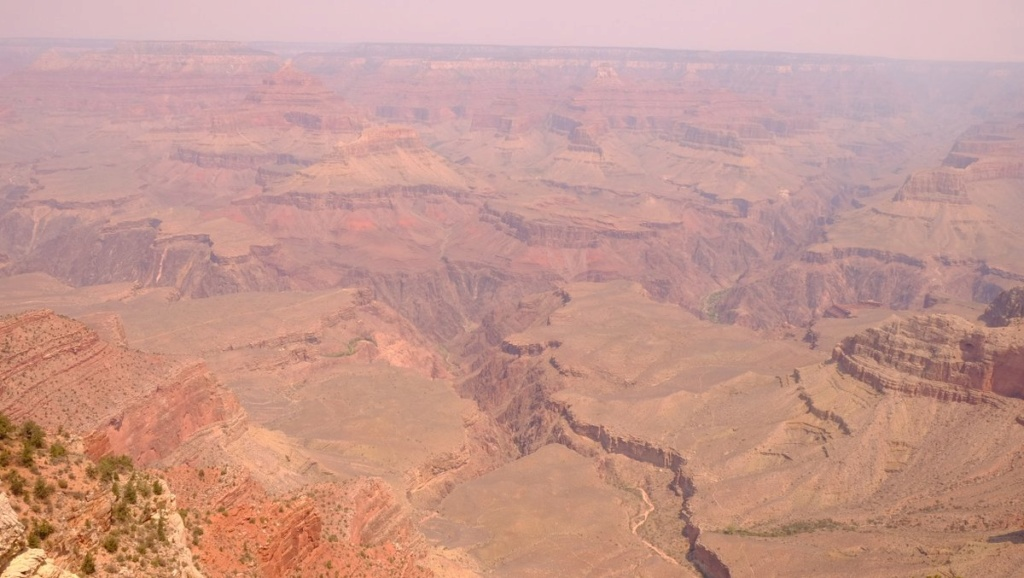 Le 07.06.2018 Flagstaff.Le Grand Canyon.... Dscf0012