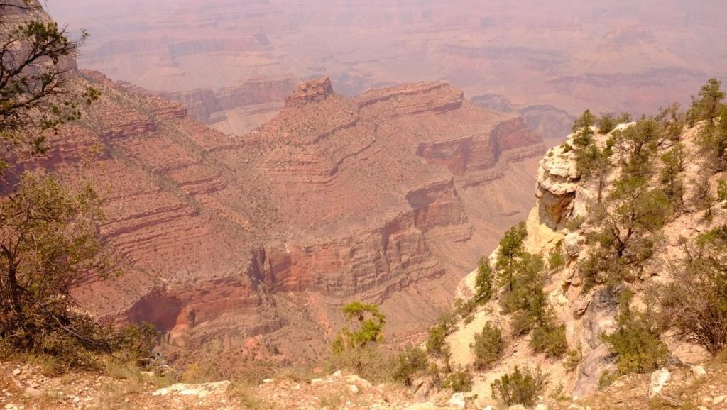 Le 07.06.2018 Flagstaff.Le Grand Canyon.... Dscf0123