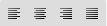 Description des caractères de la barre d'outil. 129