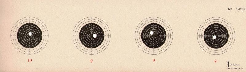 """Concours permanent bimestriel """"groupement & 100pts"""" sur cible CC A4 : Mai Juin 2014 10_m_m11"""