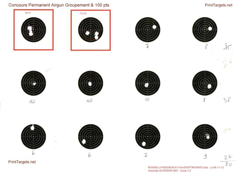 entrainement 10m carabine sur cible cc 100point - Page 16 Carton10