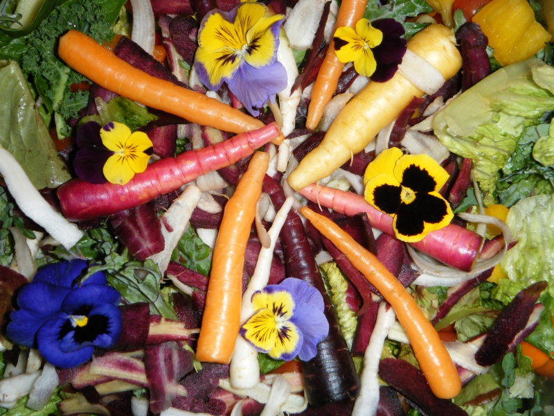 Move over winter kale... spring vegetables coming in soon! - Shifting from winter salads to spring salads.. 03510