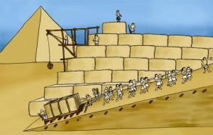 Nos civilisations perdues mais comment ont-ils fait cela? Pyrami11