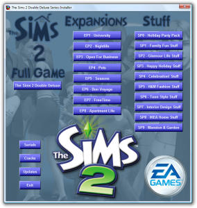 The Sims 2 Double Deluxe. [SOLVED] Jamana10