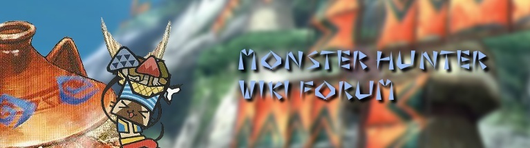 Monster Hunter Wiki Forum