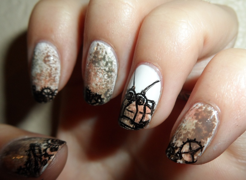 [Nail-art] Fan-art sur ongles - Page 3 Sam_3310