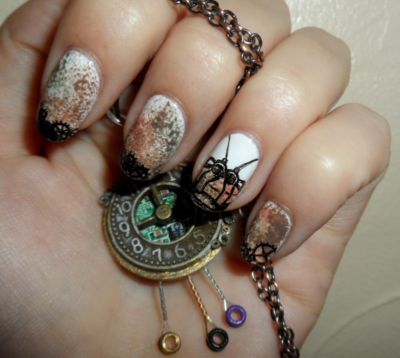 [Nail-art] Fan-art sur ongles - Page 3 Sam_3311