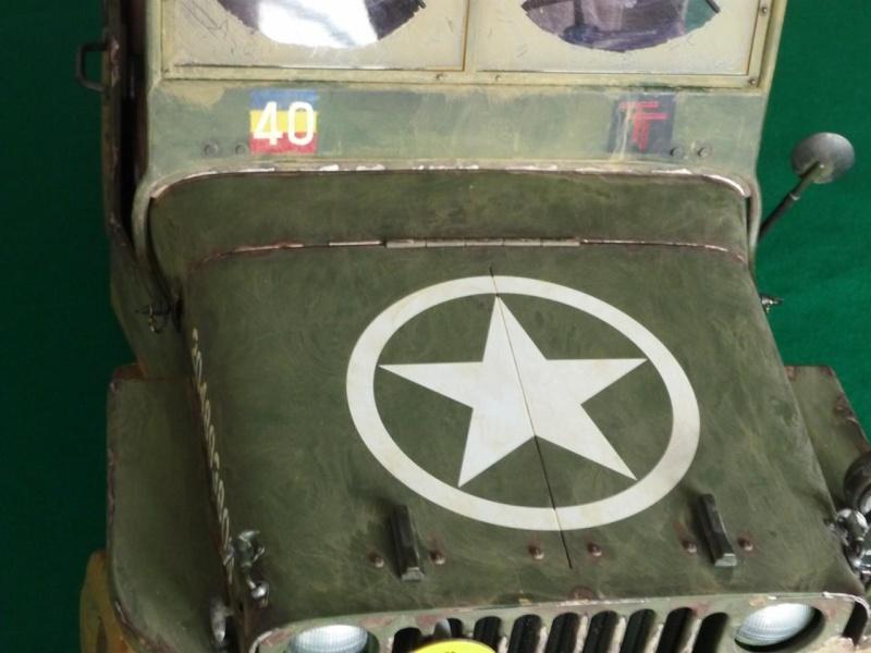 british jeep HQ R.E.M.E. 10710