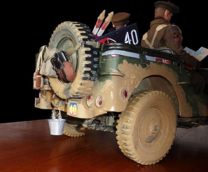 british jeep HQ R.E.M.E. 66666612