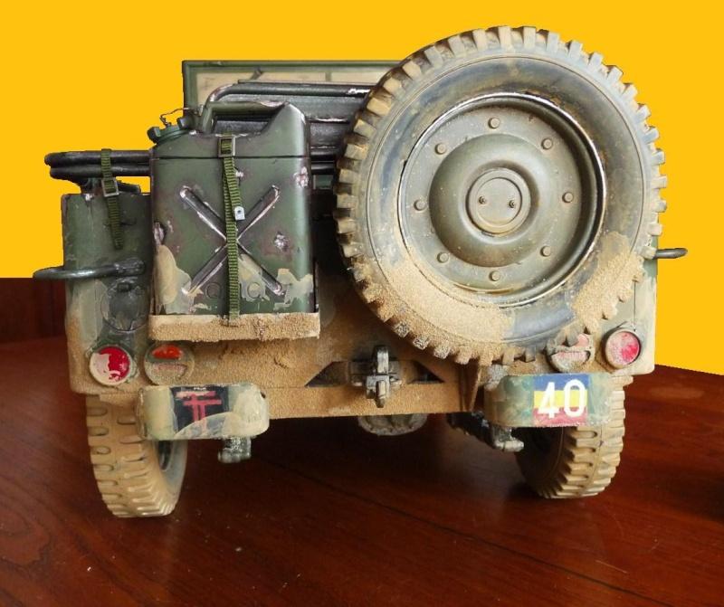 british jeep HQ R.E.M.E. 99110