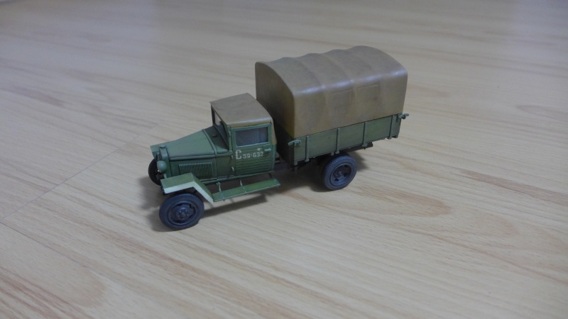 GAZ-MM von Zvezda P1010331