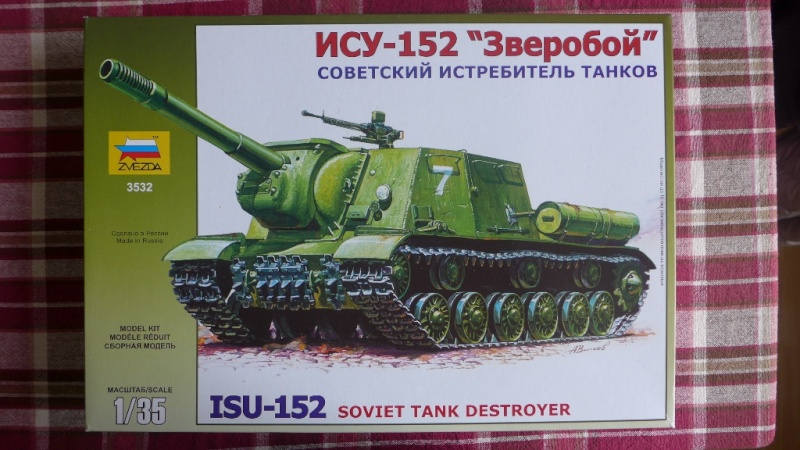 ISU-152 von Zvezda P1010521