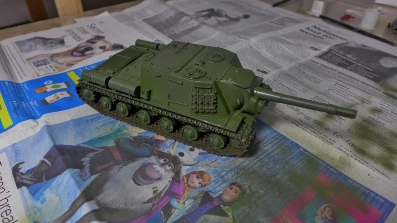 ISU-152 von Zvezda P1010553