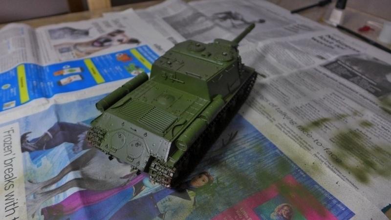 ISU-152 von Zvezda P1010554