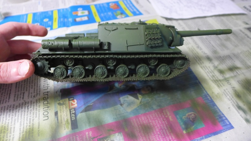 ISU-152 von Zvezda P1010556