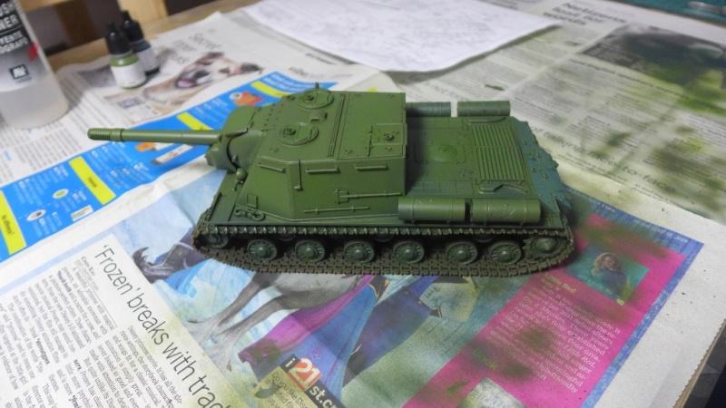 ISU-152 von Zvezda P1010557