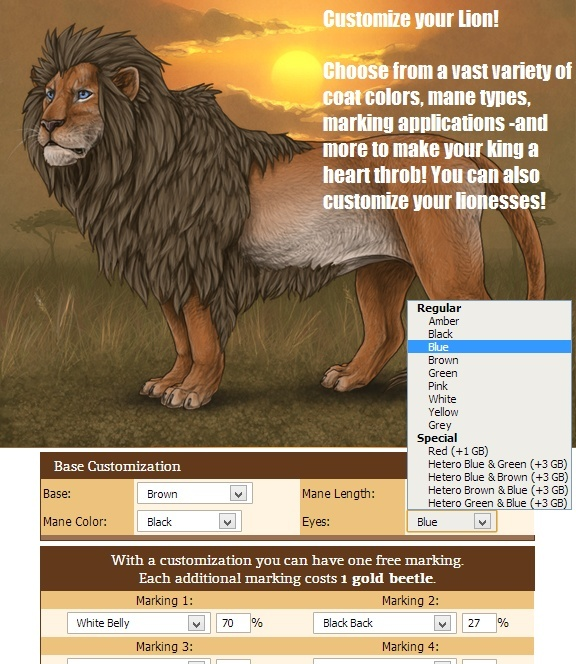 Lioden - Create your own lion Pride Custom10