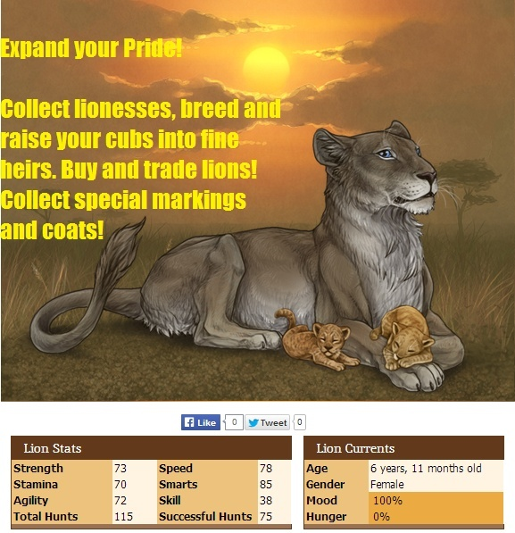 Lioden - Create your own lion Pride Expand10