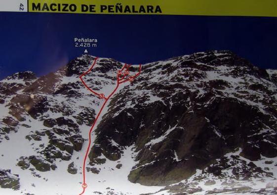 Alpinismo: sábado 1 febrero 2014 - Sudeste Clásica a Peñalara 00113