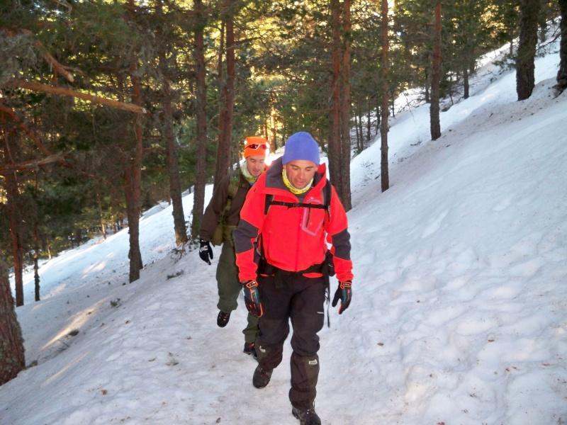 Alpinismo: sábado 15 de marzo 2014 - Sudeste clásica al pico Peñalara 001_ha10