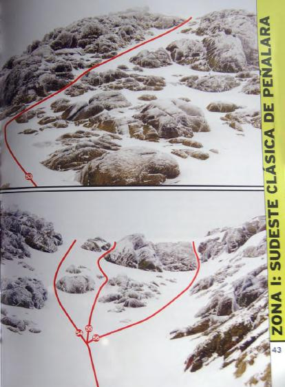 Alpinismo: sábado 1 febrero 2014 - Sudeste Clásica a Peñalara 00210