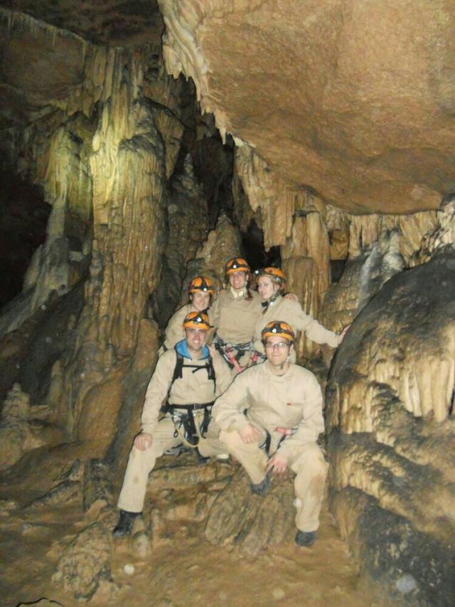 Senderismo y espeleología: 8 y 9 de febrero 2014 - Cañón del Río Lobos y Cueva de la Galiana - Página 3 00410