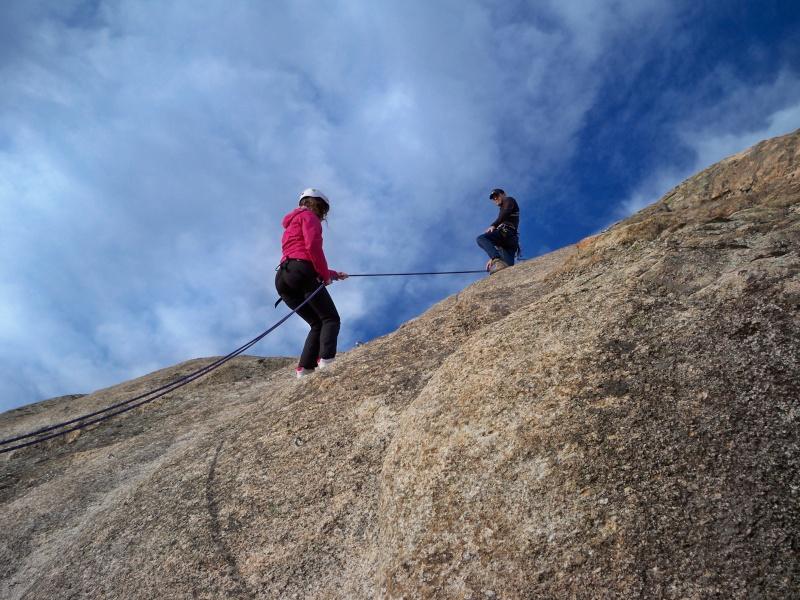 Escalada: domingo 26 de enero 2014 - Rapelando en Torrelodones 004_ra10