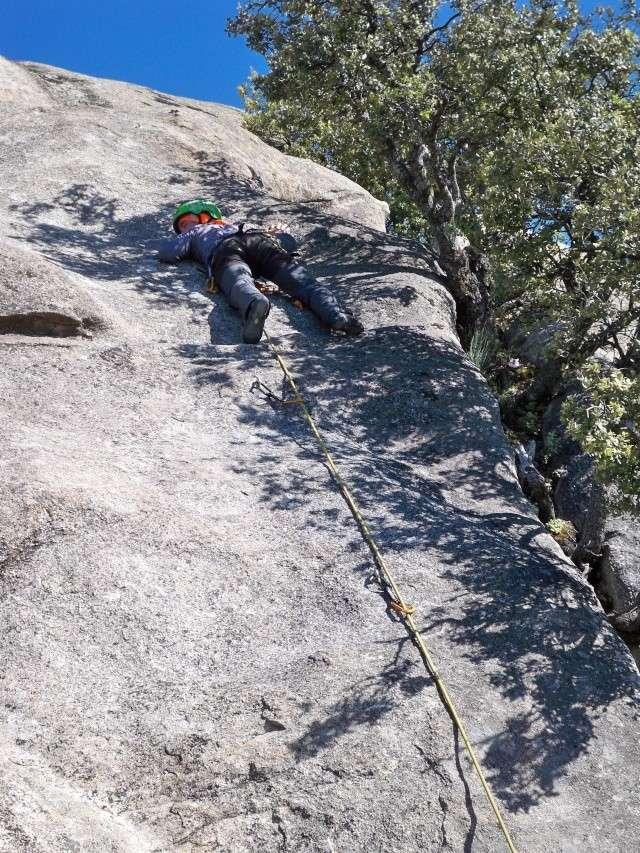 Escalada: viernes 18 de abril 2014 - Escalando en Torrelodones (Sectores Elefantito y Antena) 005_pa10