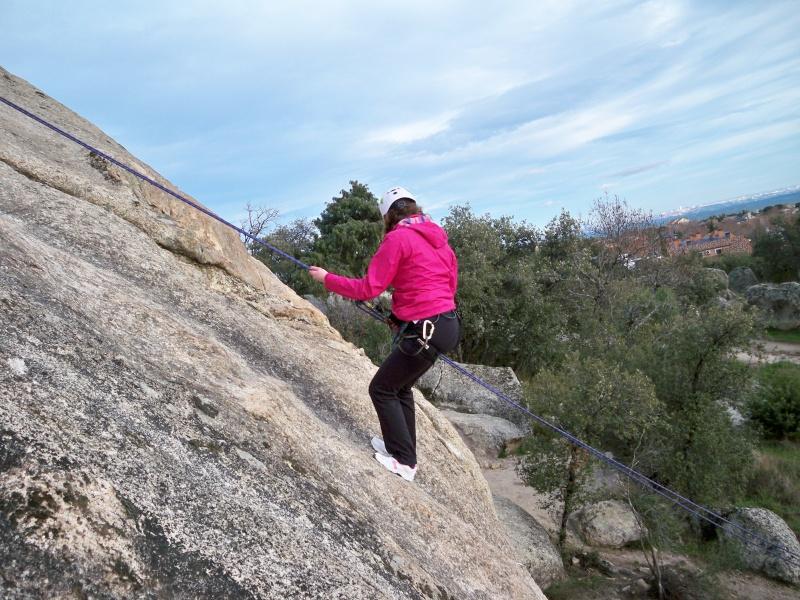 Escalada: domingo 26 de enero 2014 - Rapelando en Torrelodones 005_ra11