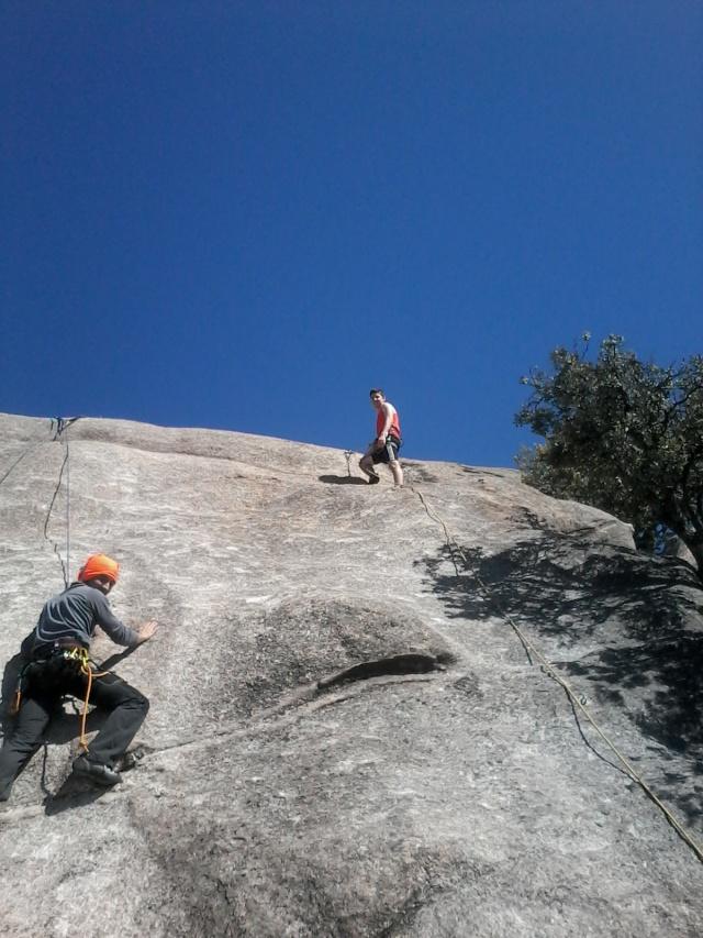 Escalada: viernes 18 de abril 2014 - Escalando en Torrelodones (Sectores Elefantito y Antena) 006_ra12