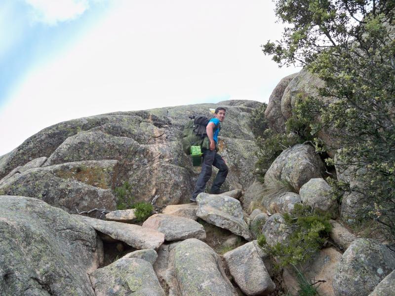 Montañismo: 24 y 25 de mayo 2014 - Integral de la Pedriza (con vivac) 007_pa10
