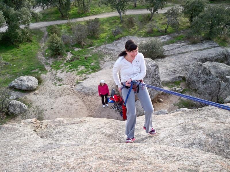 Escalada: domingo 26 de enero 2014 - Rapelando en Torrelodones 007_ra10