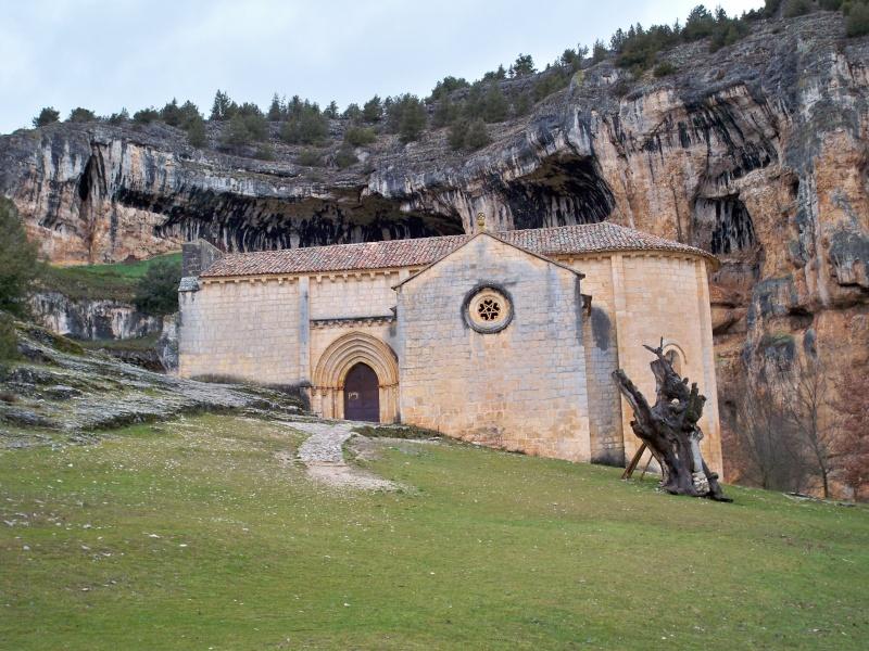 Ermita templaria de San Bartolomé (Cañón del Río Lobos, Soria). 009_er10