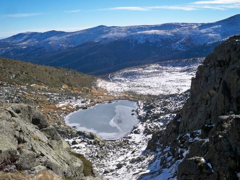 Alpinismo: sábado 14 de diciembre 2013 - Tubo central del circo glaciar de Peñalara 010_la10
