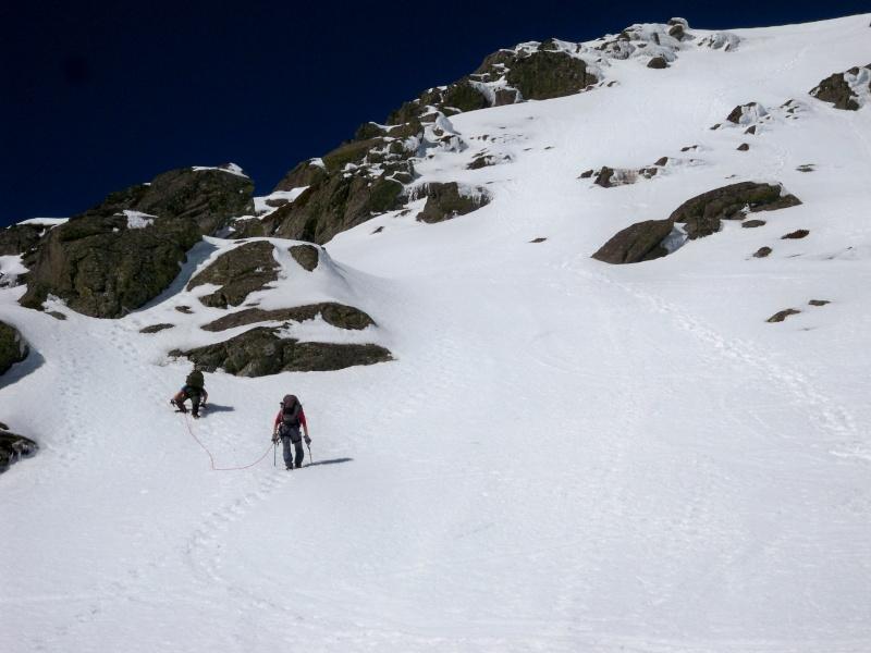 Alpinismo: sábado 15 de marzo 2014 - Sudeste clásica al pico Peñalara 011_pa10