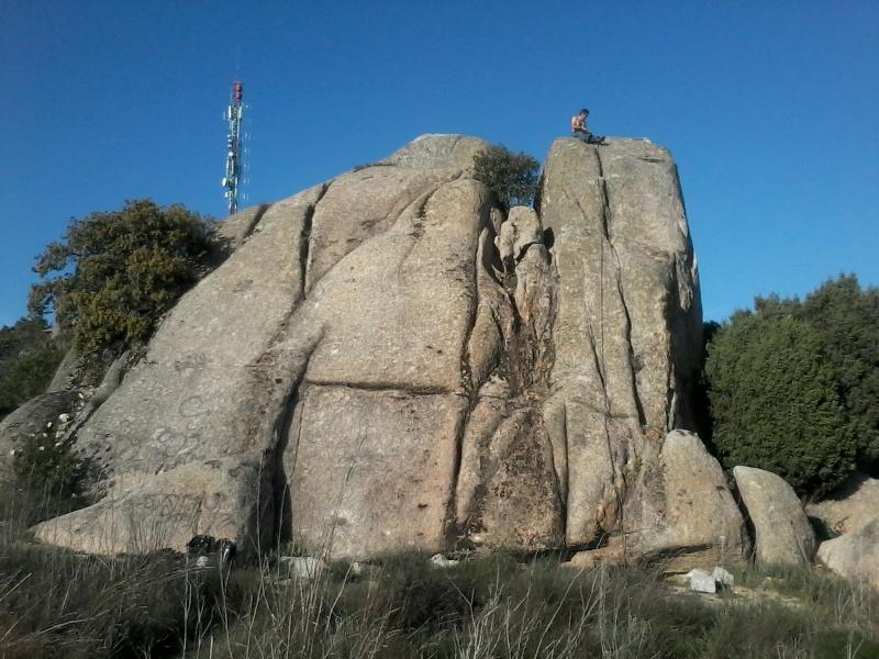 Escalada: viernes 18 de abril 2014 - Escalando en Torrelodones (Sectores Elefantito y Antena) 017_an10