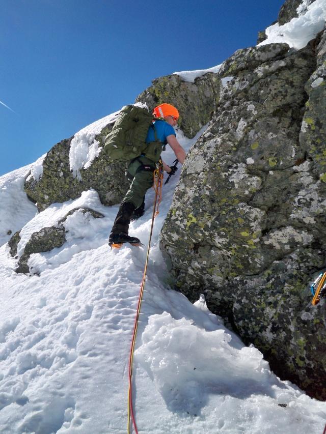 Alpinismo: sábado 15 de marzo 2014 - Sudeste clásica al pico Peñalara 017_pa10
