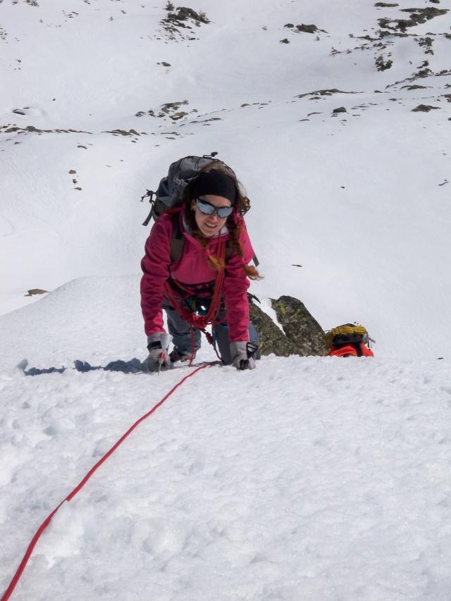 Alpinismo: sábado 15 de marzo 2014 - Sudeste clásica al pico Peñalara 021_ca10