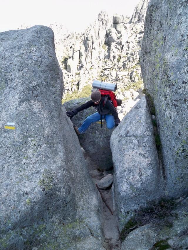 Montañismo: 24 y 25 de mayo 2014 - Integral de la Pedriza (con vivac) 025_jo10