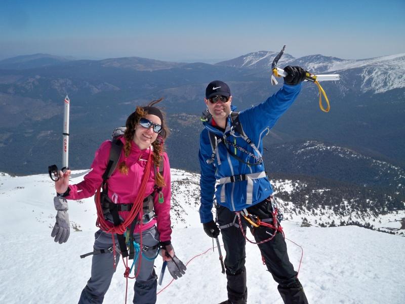 Alpinismo: sábado 15 de marzo 2014 - Sudeste clásica al pico Peñalara 027_co10