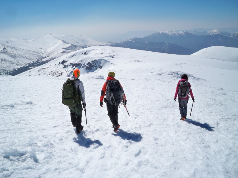 Alpinismo: sábado 15 de marzo 2014 - Sudeste clásica al pico Peñalara 028_ba10