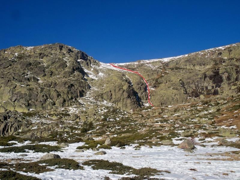 Alpinismo: sábado 14 de diciembre 2013 - Tubo central del circo glaciar de Peñalara 111110