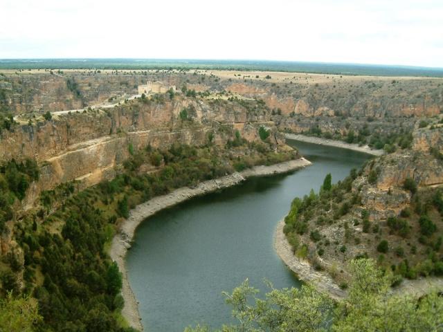 Senderismo y espeleología: 8 y 9 de febrero 2014 - Cañón del Río Lobos y Cueva de la Galiana - Página 3 5510