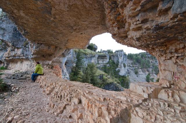 Senderismo y espeleología: 8 y 9 de febrero 2014 - Cañón del Río Lobos y Cueva de la Galiana - Página 3 7710